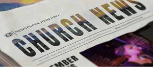 A church print media